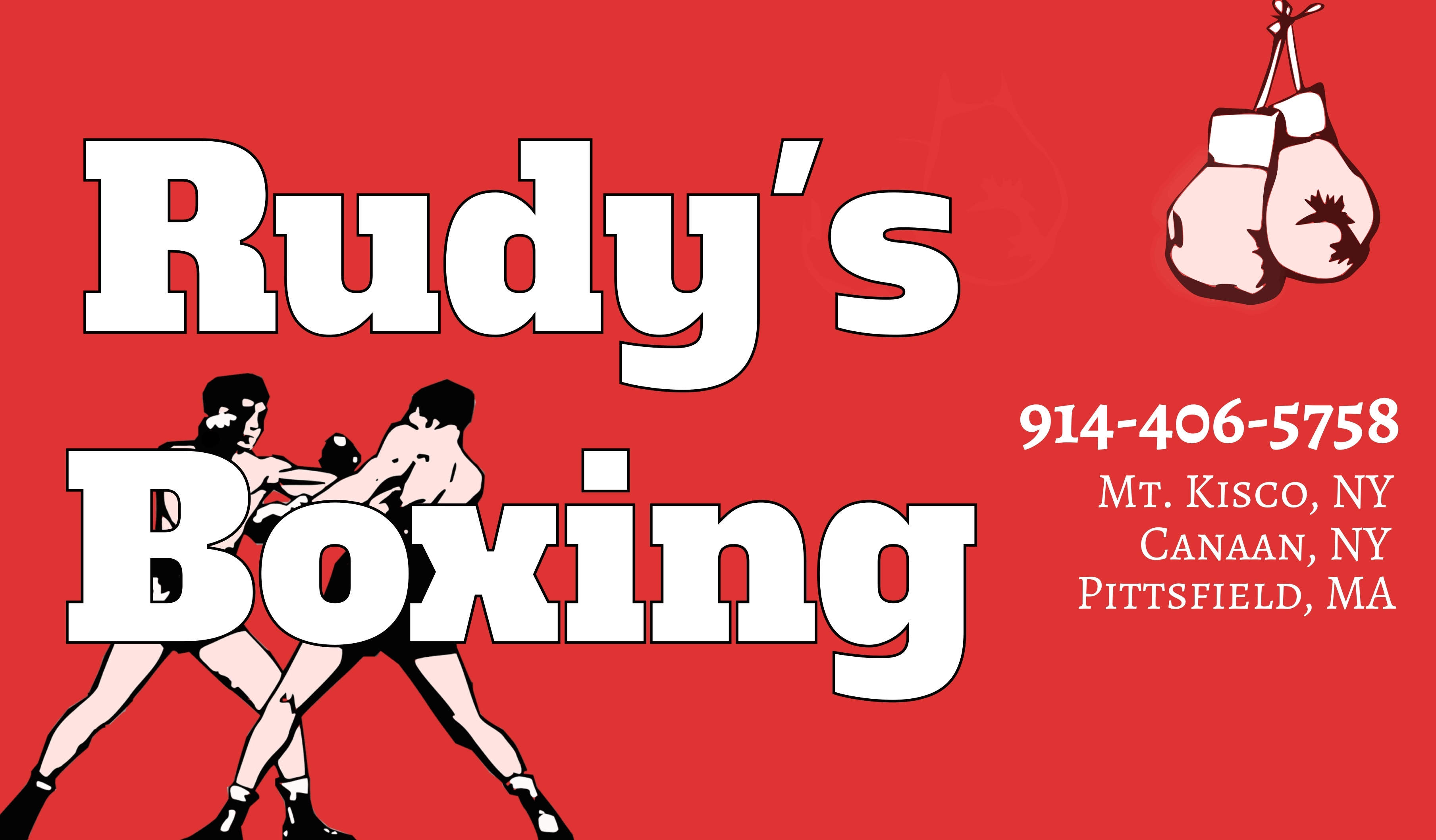 Rudy's Boxing can be contacted at 914-407-5758